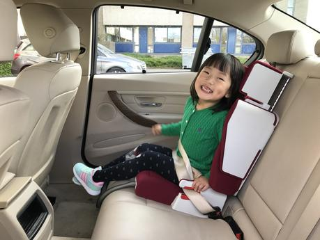 Introducing Purseat - A fold up car seat and travel bed for children