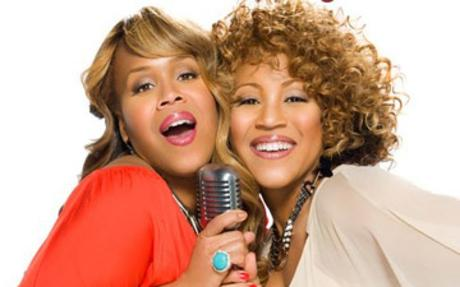 Erica Campbell and Tina Campbell Camping Season 6 Of Mary Mary Underway