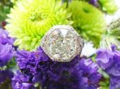 Single Stone 3.76ct Cushion Engagement Ring
