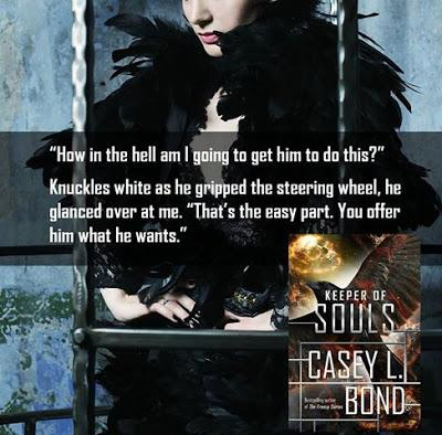 Keeper of Souls by Casey L. Bond @agarcia6510  @authorcaseybond