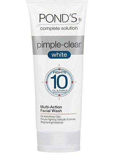 ponds pimple clear wash