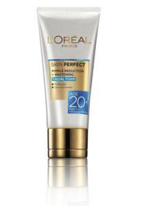 loreal whitening and pimple reduction face wash