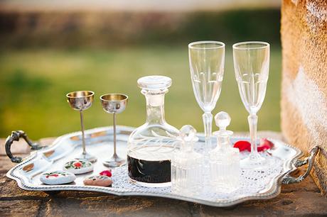 Elegant wedding inspiration shoot at the Chatzi Mansion