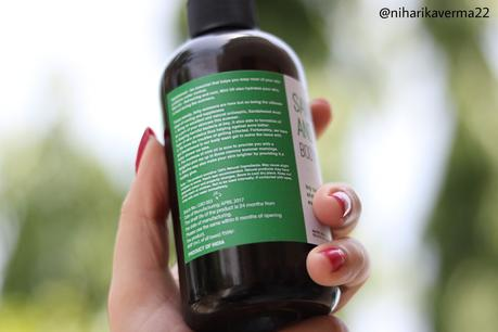 Greenberry Organics - Blueberry Blackcurrant and Sandalwood Mint Oil Body Wash Gel | Review