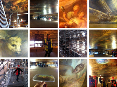 Get up close to the Painted Hall ceiling at Greenwich ORNC – plus a tip for good cheap food