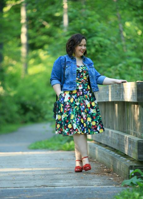 What I Wore: Fruit and Flowers