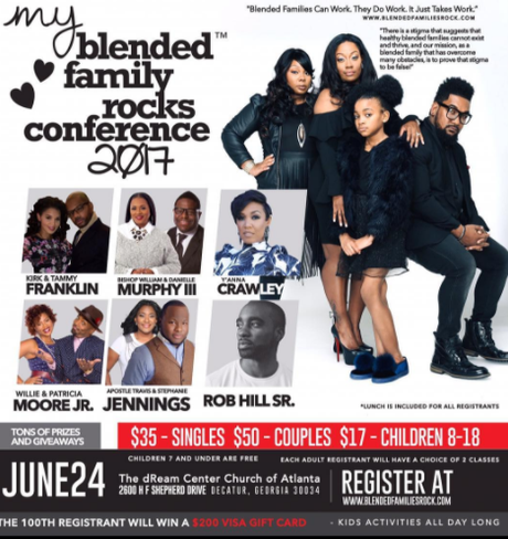 Check Out Kirk Franklin And Wife Tammy At The Blended Family Conference