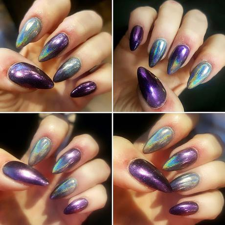 Nail Porn: My New Chrome & Holographic Nails!