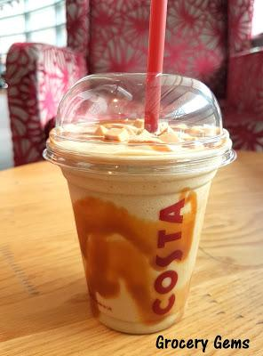 Review: New Costa Coffee Banoffee Frostino