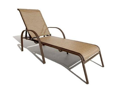 Tanning Lounge Chair