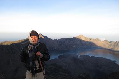 Climbing Mt. Rinjani