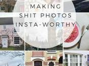 Blogging: Turning Rubbish Photos into Insta-Worthy Snaps (Editing Tips Tools)