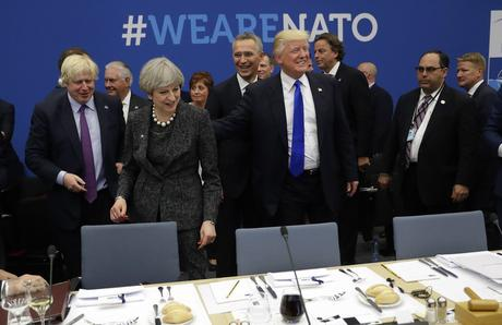 When Trump Met NATO: Blunt Talk And Meaningful Silences