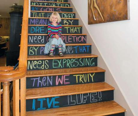 23 Pretty Painted Stairs Ideas To Inspire Your Home