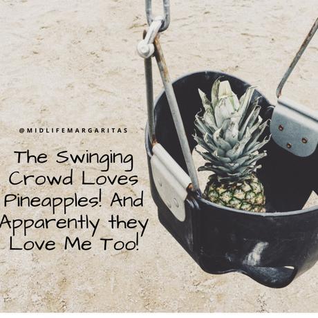 Ananas symbol för swingers