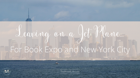 Attending Book Expo in New York City