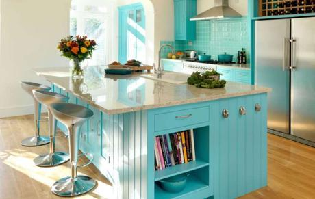 15 Favorite Ideas For Turquoise Kitchen Decor And Appliances Paperblog