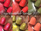 Zoya Wanderlust Summer 2017 Part