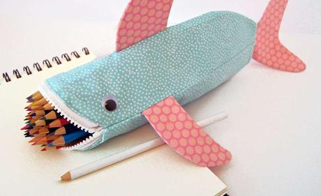 how to make a simple paper pencil case
