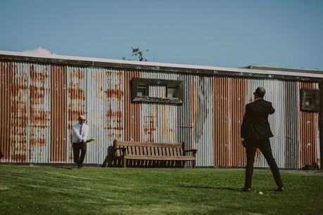Chic Modern Ohaupo Winery Wedding