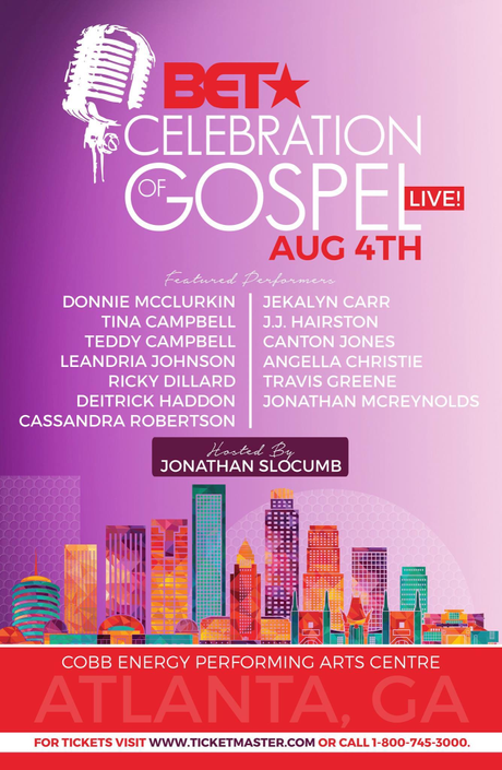 New City New Host!! BET Moves Celebration Of Gospel To Atlanta