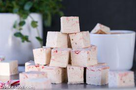 Paleo Peppermint Marshmallows
