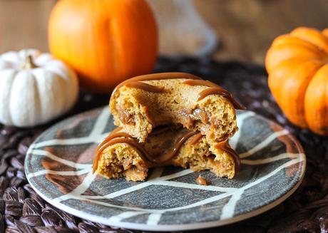 Pumpkin Dulce De Leche Baked Doughnuts