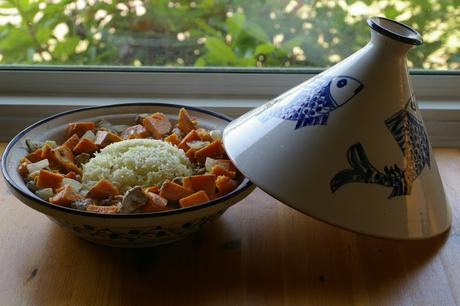 African Chicken and Yam Tagine