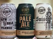 Beer Review Trio Beers from Australian Brewery