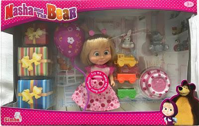 Masha and the Bear Birthday Playset