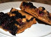 Blackberry Blondie Bars