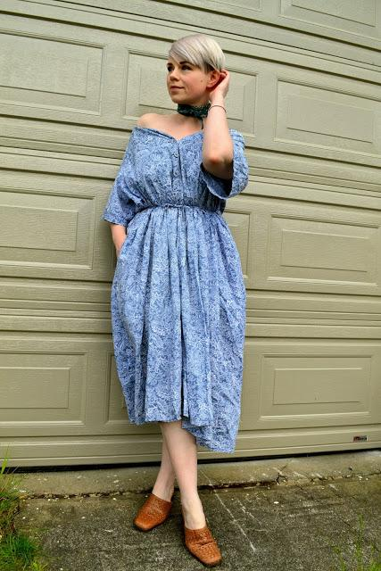Look of the Day: Off-Shoulder Dress & Life Changes