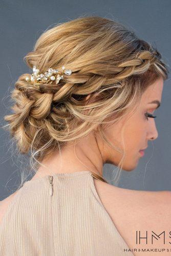 wedding updos for medium hair tender braided updo with braids hairandmakeupbysteph