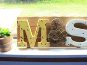 Project: Personalized Wooden Plaque