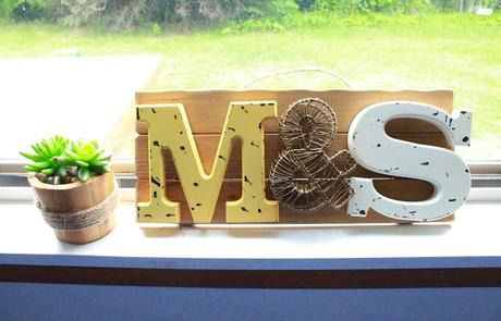 DIY Project: Personalized Wooden Plaque