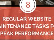 Regular Website Maintenance Tasks Peak Performance