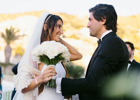 Gorgeous destination wedding in Mykonos | Gabriella & Joe