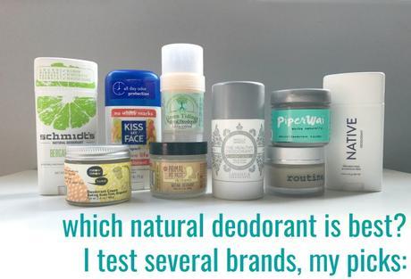 Natural Deodorant Reviews