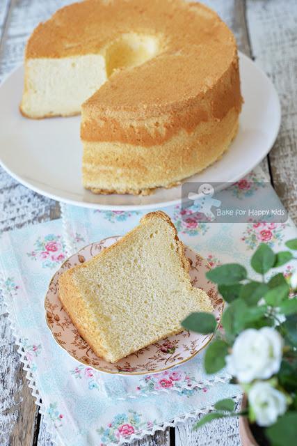 Ultra Soft Milk Chiffon Cake