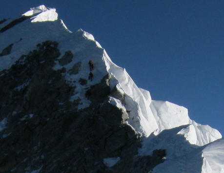 Climbers Confirm the Hillary Step has Been Altered
