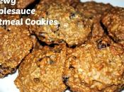 Chewy Applesauce Oatmeal Cookies