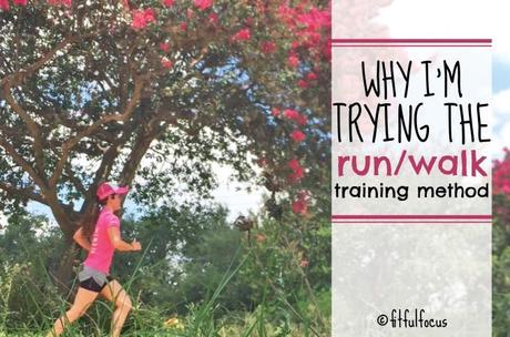 Why I'm Trying the Run/Walk Training Method
