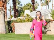 Pink Embroidered Dress Palm Springs