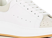 Right 'OverSize' Summer: Alexander McQueen Oversized-Sole Leather Sneakers
