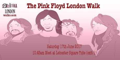 The Psychogeography of the #PinkFloyd London Walk
