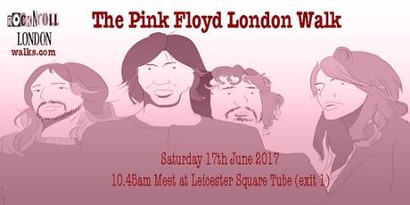 The Psychogeography of the #PinkFloyd London Walk