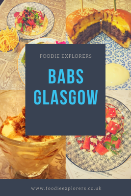 Food Review: 'Babs, 49 West Nile Street, Glasgow
