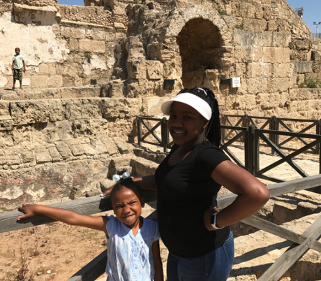 "Sisters Erica Campbell & Tina Campbell  Filming Episodes Of ""Mary Mary"" Season 6 In Israel"