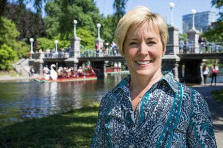 Leslie Singleton Adam elected Chair of the Friends of the Public Garden