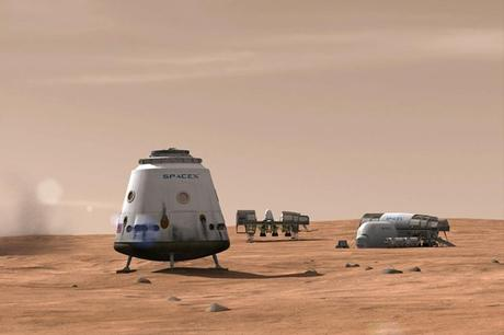 Elon Musk Outlines Plans for Sending People to Mars